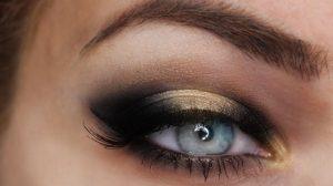смоки айс для голубых глаз