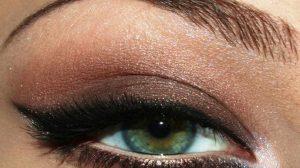 смоки айс для зеленых глаз